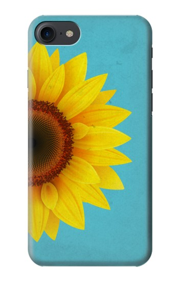 Printed Vintage Sunflower Blue HTC One E9+ Case