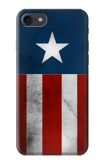 Printed Captain Star Flag of America HTC One E9+ Case