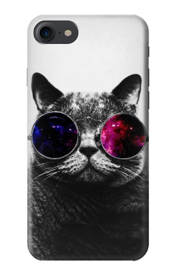 Printed Cool Cat Glasses HTC One E9+ Case