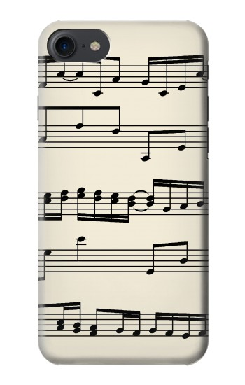 Printed Music Sheet HTC One E9+ Case