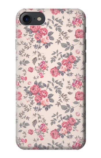 Printed Vintage Rose Pattern HTC One E9+ Case