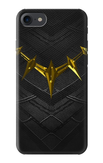 Printed Black Panther Inspired Costume Gold Necklace HTC One E9+ Case