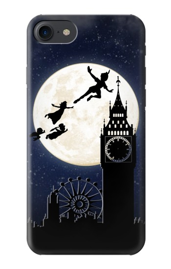 Printed Peter Pan Fly Fullmoon Night HTC One E9+ Case