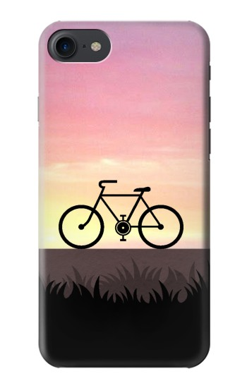 IPHONE 8 Bicycle Sunset Case Cover