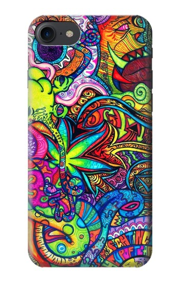 Printed Colorful Art Pattern HTC One E9+ Case