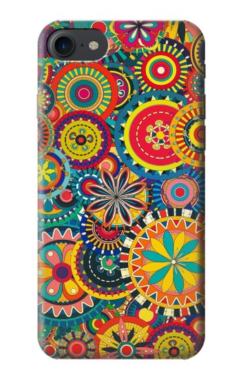 Printed Colorful Pattern HTC One E9+ Case