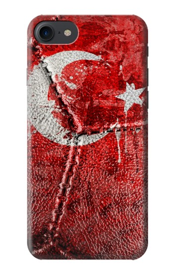 Printed Turkey Flag Vintage Football 2018 HTC One E9+ Case