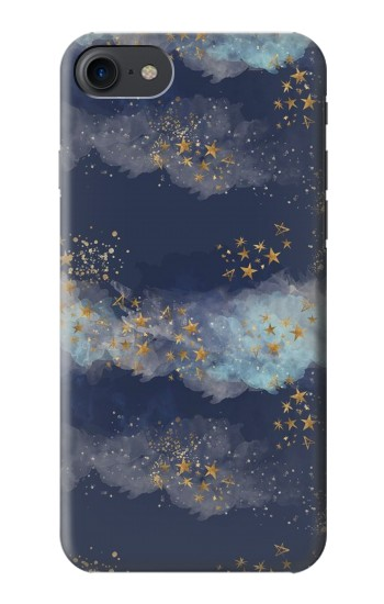 Printed Gold Star Sky HTC One E9+ Case