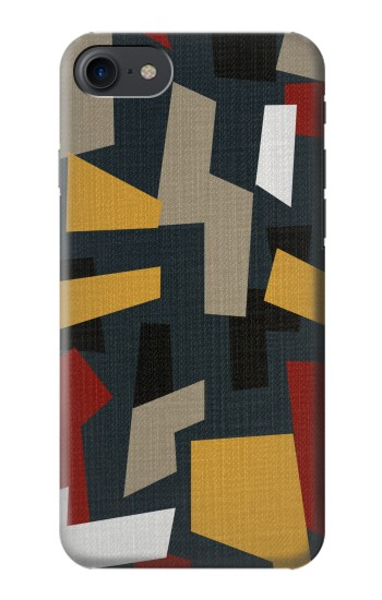Printed Abstract Fabric Texture HTC One E9+ Case