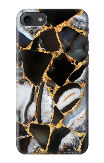 Printed Gold Marble Graphic Print HTC One E9+ Case