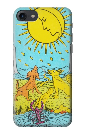 Printed Tarot Card Moon HTC One E9+ Case