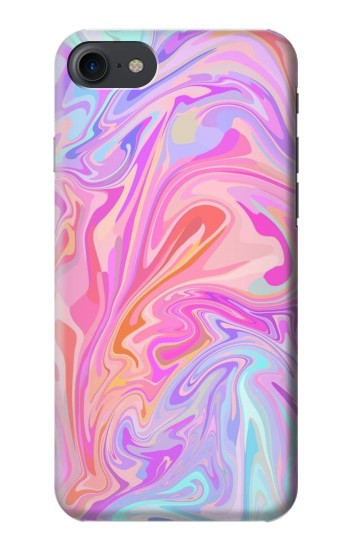Printed Digital Art Colorful Liquid HTC One E9+ Case