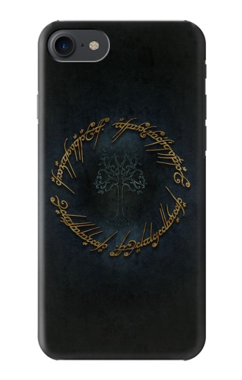 Printed Lord of The Rings Ring Elf Writing HTC One E9+ Case