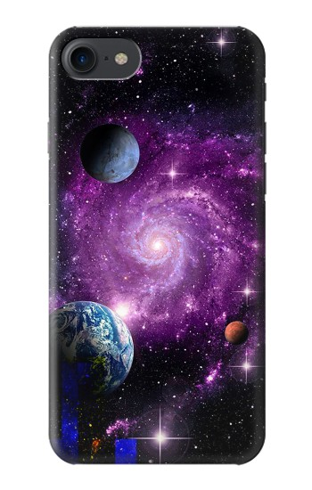 Printed Galaxy Outer Space Planet HTC One E9+ Case
