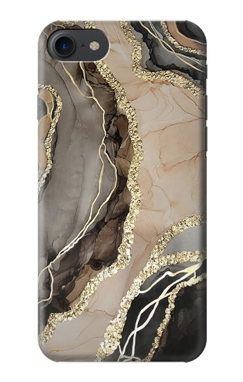 Printed Marble Gold Graphic Printed HTC One E9+ Case