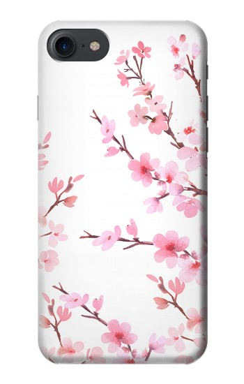 Printed Pink Cherry Blossom Spring Flower HTC One E9+ Case