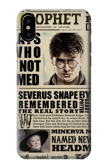 Printed Harry Potter Daily Prophet HTC One M9+ Case