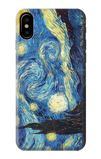 Printed Van Gogh Starry Nights HTC One M9+ Case