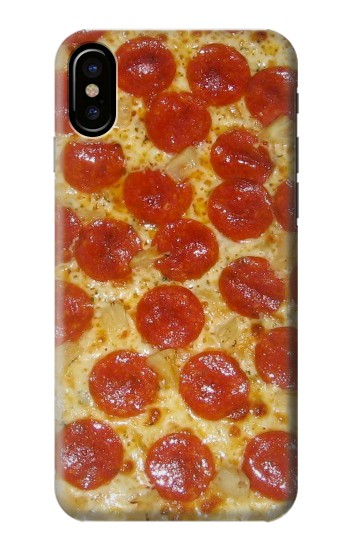 Printed Pizza HTC One M9+ Case