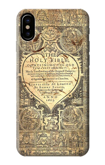 Printed Bible Page HTC One M9+ Case