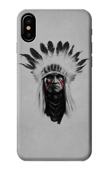 Printed Indian Chief HTC One M9+ Case
