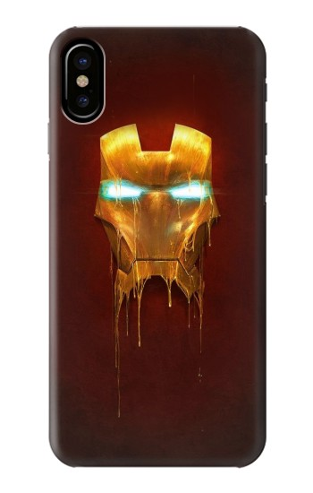 Printed Ironman Mask HTC One M9+ Case