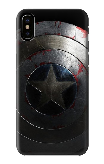 Printed Captain Shield HTC One M9+ Case