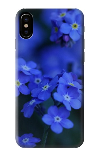 Printed Forget me not HTC One M9+ Case