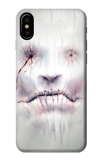Printed Horror Face HTC One M9+ Case
