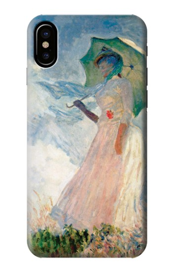 Printed Claude Monet Woman with a Parasol HTC One M9+ Case