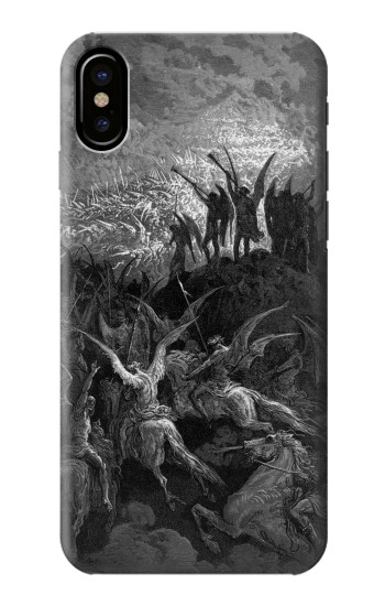 Printed Gustave Dore Paradise Lost HTC One M9+ Case