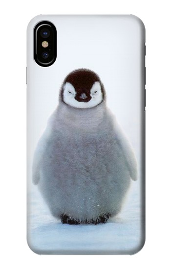 Printed Penguin Ice HTC One M9+ Case