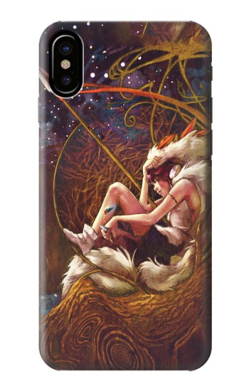 Printed Princess Mononoke The Spirit Princess HTC One M9+ Case