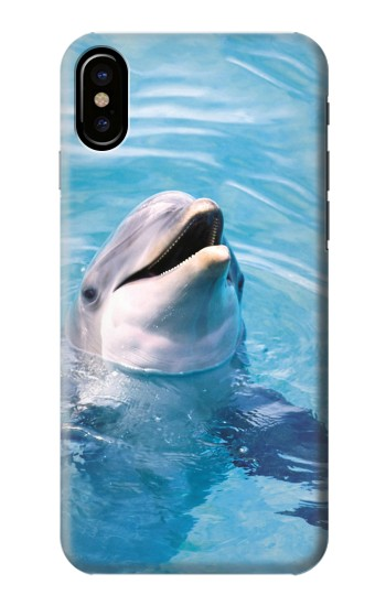 Printed Dolphin HTC One M9+ Case