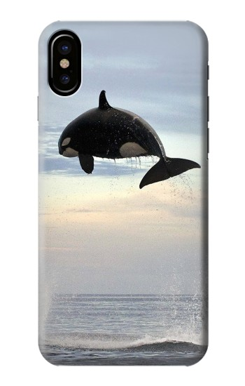 Printed Killer whale Orca HTC One M9+ Case