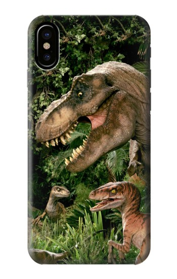 Printed Trex Raptor Dinosaur HTC One M9+ Case