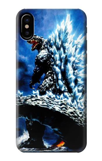 Printed Godzilla Giant Monster HTC One M9+ Case