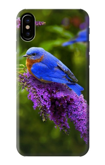 Printed Bluebird of Happiness Blue Bird HTC One M9+ Case