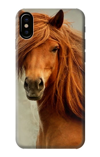 Printed Beautiful Brown Horse HTC One M9+ Case