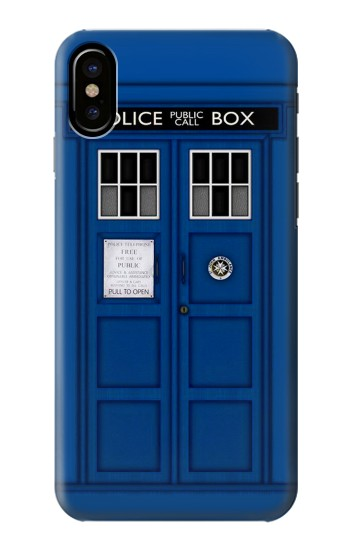 Printed Doctor Who Tardis HTC One M9+ Case