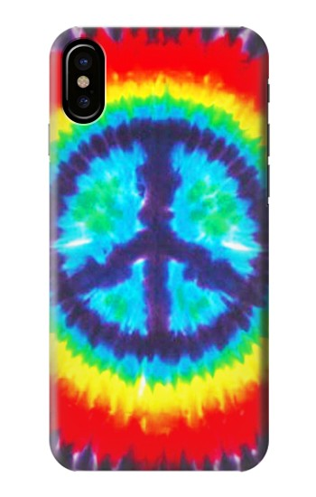 Printed Tie Dye Peace HTC One M9+ Case