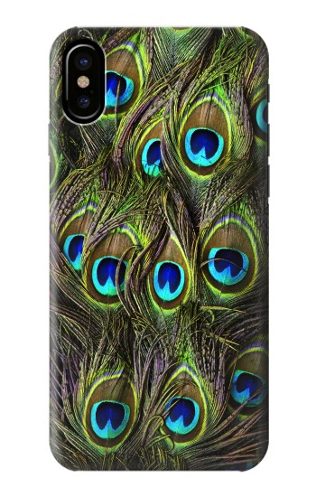 Printed Peacock Feather HTC One M9+ Case