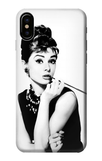 Printed Audrey Hepburn Breakfast at Tiffanys HTC One M9+ Case