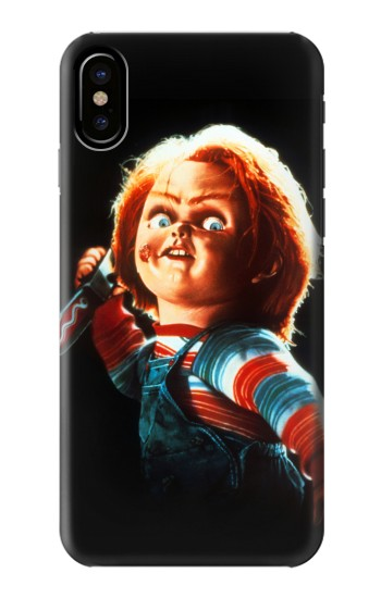 Printed Chucky With Knife HTC One M9+ Case