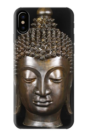 Printed Buddha Face HTC One M9+ Case