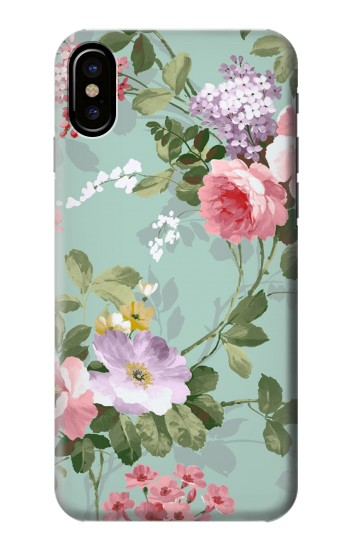 Printed Flower Floral Art Painting HTC One M9+ Case