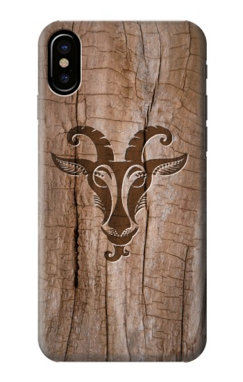 Printed Goat Wood Graphic Printed HTC One M9+ Case