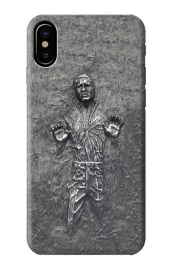 Printed Han Solo in Carbonite HTC One M9+ Case