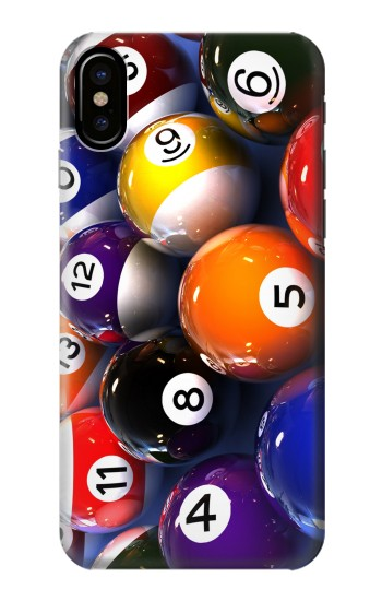 Printed Billiard Pool Ball HTC One M9+ Case