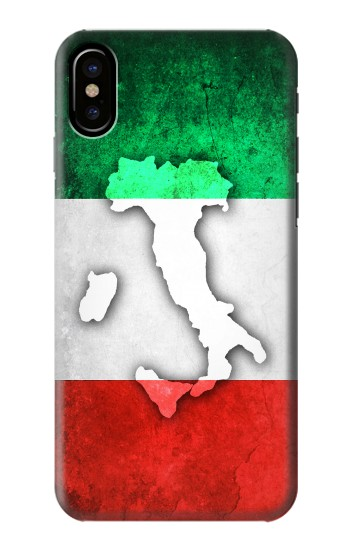 Printed Italy Flag HTC One M9+ Case